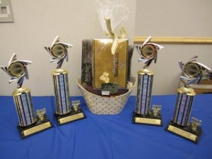 2012 Foothills Division Trophies