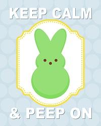 Keep Calm and PEEP on